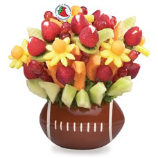 Footbal Fruit Bouquet