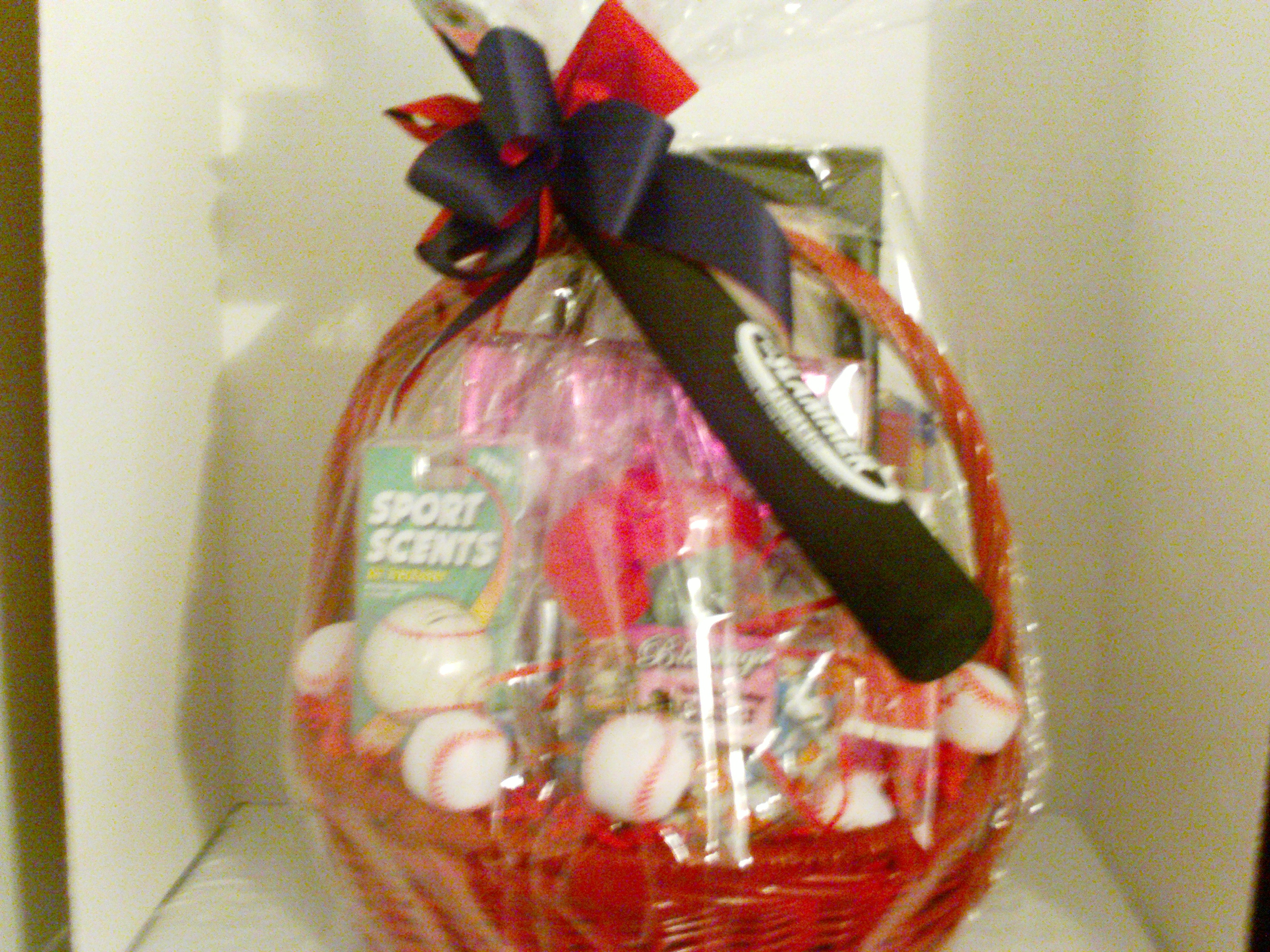 Basket For Baseball Mom