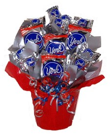 Peppermint Patty Candy Bouquet
