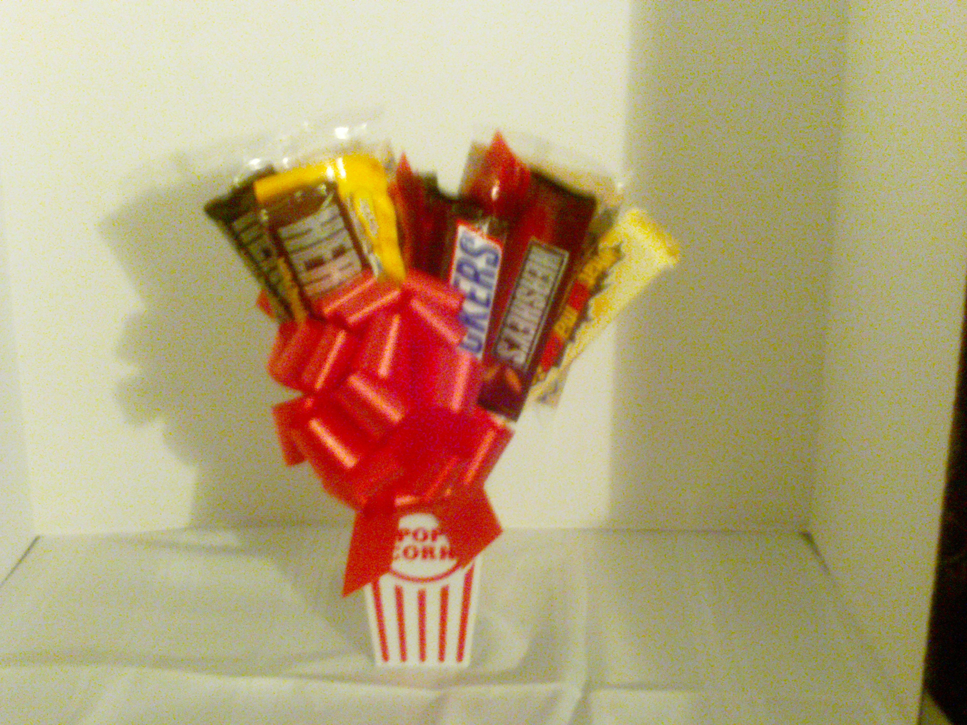 Movie Candy Bouquet