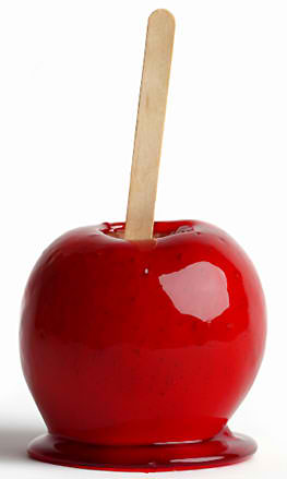 Dozen Red Candy Apples